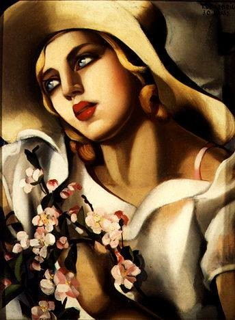 The Straw Hat, 1930, Tamara de Lempicka